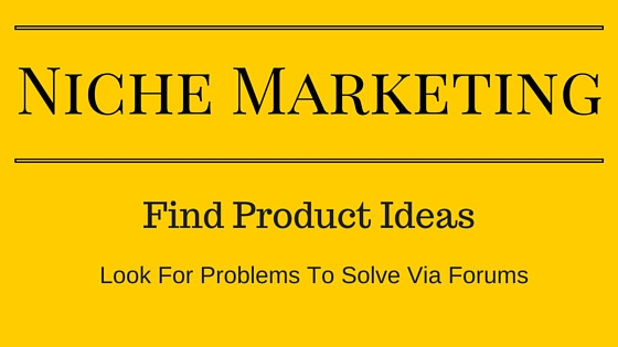 Finding your product idea via forums and social media groups